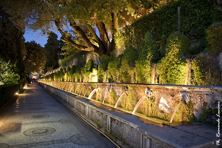 Villa D'Este - Viale delle Cento Fontane
