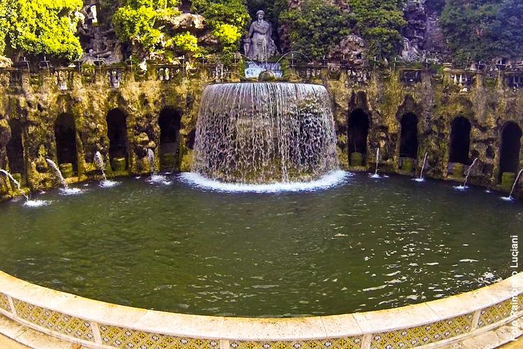 Villa D'Este - Fontana dell'Ovato