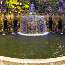 Tivoli - Villa D'Este - Fontana dell'Ovato
