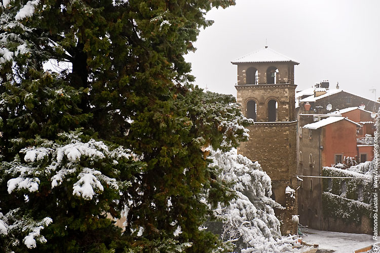 Tivoli sotto la neve tivoli touring - Taxi bagni di tivoli ...