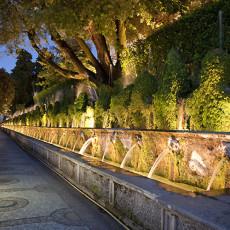 Tivoli - Villa D'Este - Viale delle Cento Fontane