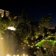 Tivoli - Villa D'Este - Panorama notturno