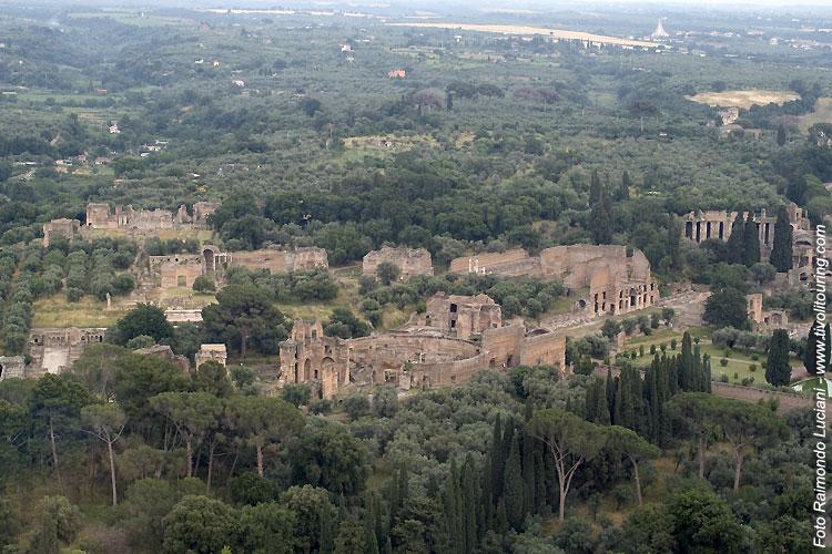 Villa adriana tivoli la villa dell imperatore adriano for Grandi piani del ranch