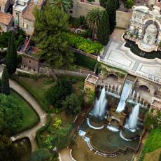 Tivoli - Villa D'Este - Fontana dell'Organo e Fontana di Nettuno